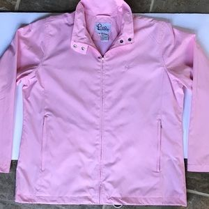 Lilly Pulitzer Pink Lightweight Wind Jacket Med